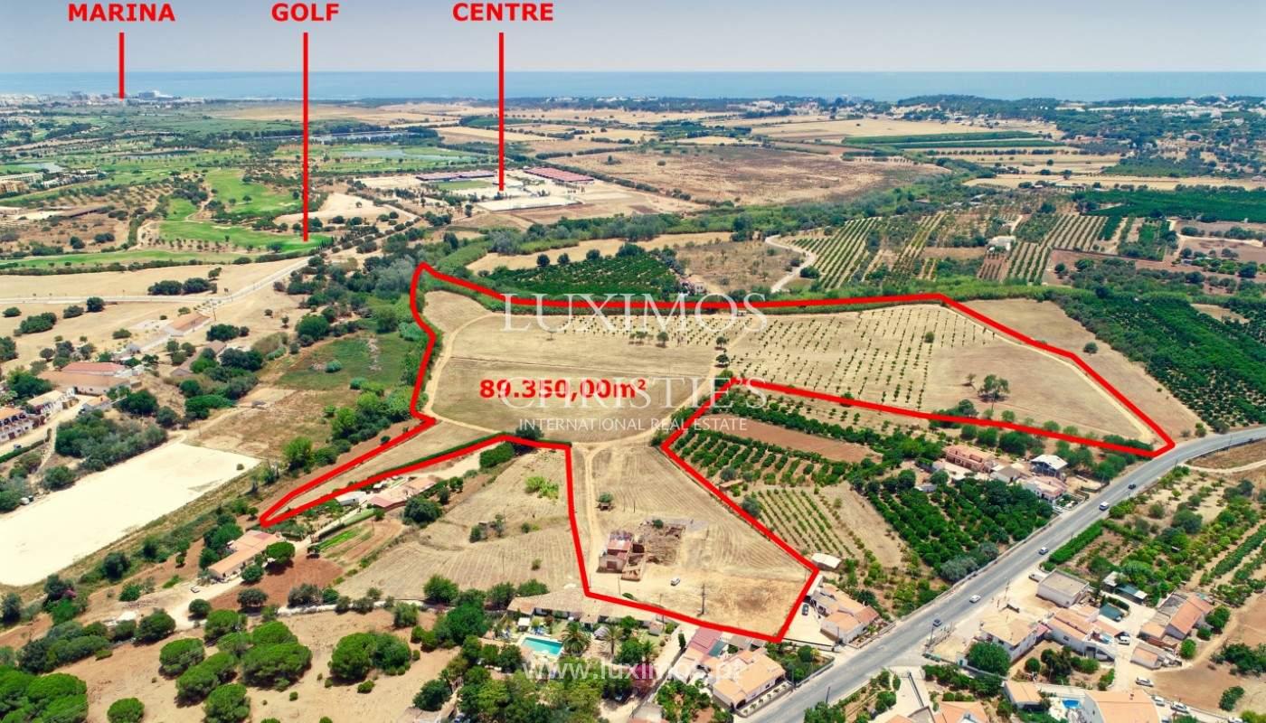 9 ha terreno con proyecto aprobado, Quarteira, Algarve, Portugal _144355