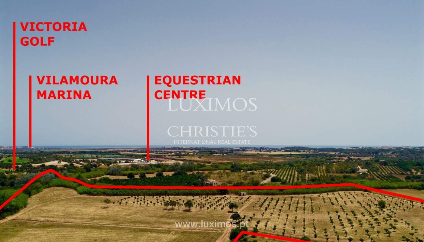 9 ha terreno con proyecto aprobado, Quarteira, Algarve, Portugal _144357