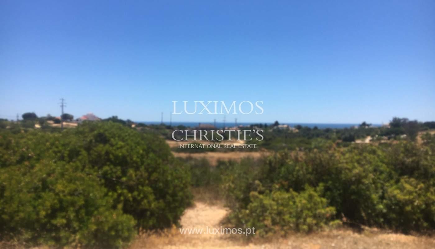Terreno ao pé da praia, para venda, Caramujeira, Lagoa, Algarve_144875