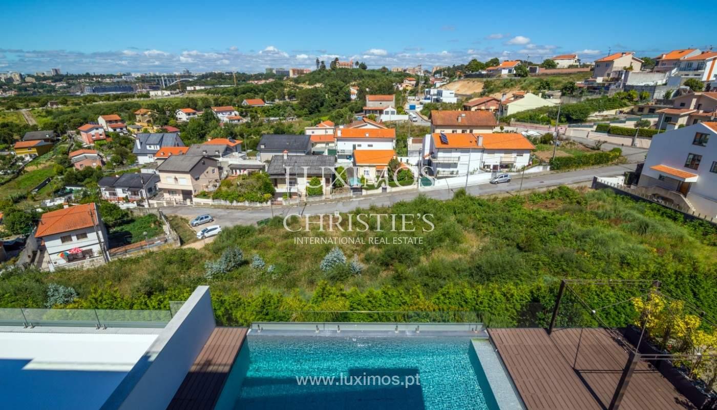 Villa avec vue sur la rivière et la mer, à vendre, Canidelo, Gaia, Portugal_144986