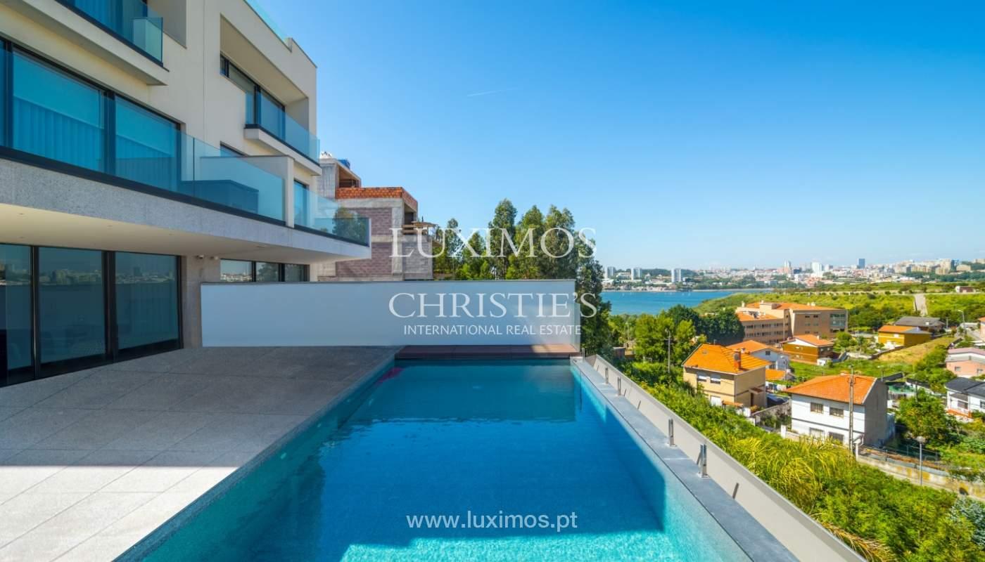 Villa avec vue sur la rivière et la mer, à vendre, Canidelo, Gaia, Portugal_144994