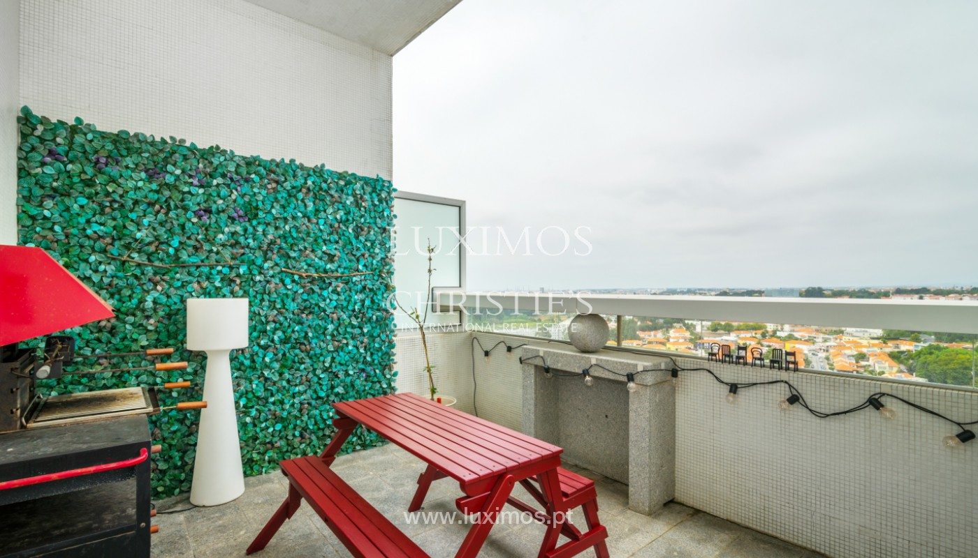 Penthouse dúplex, en venta, cerca del Parque de la Ciudad, Porto, Portugal_145056