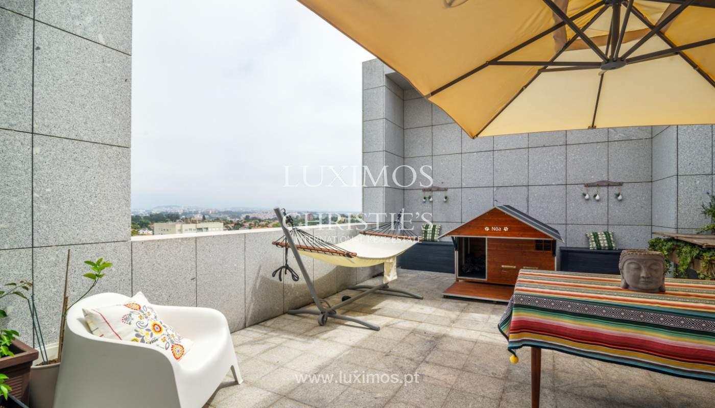 Penthouse dúplex, en venta, cerca del Parque de la Ciudad, Porto, Portugal_145064