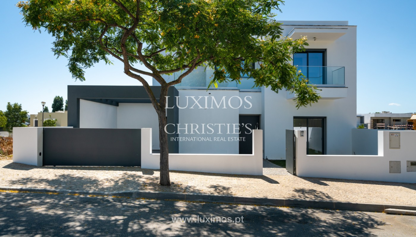 Villa neuve contemporaine à vendre à Quarteira, Algarve, Portugal_145193