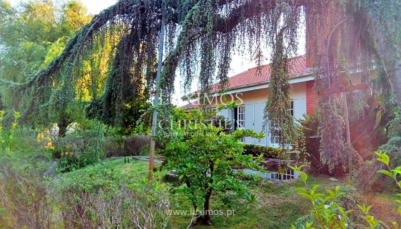 Sale of villa with garden and pool, by sea, in Porto, Portugal_145521