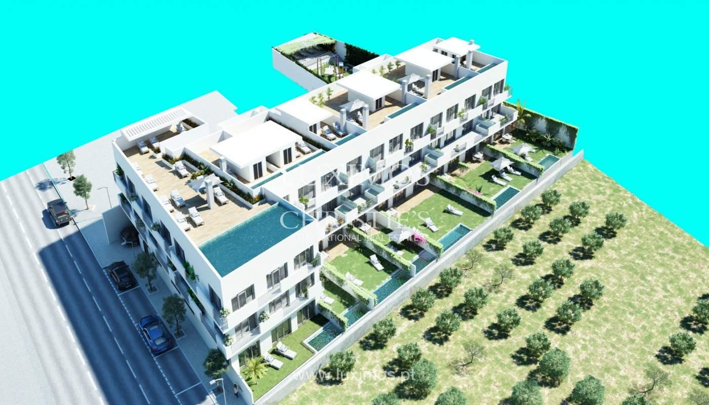 New apartment, closed condominium, with terrace and jacuzzi, Tavira, Algarve_145567