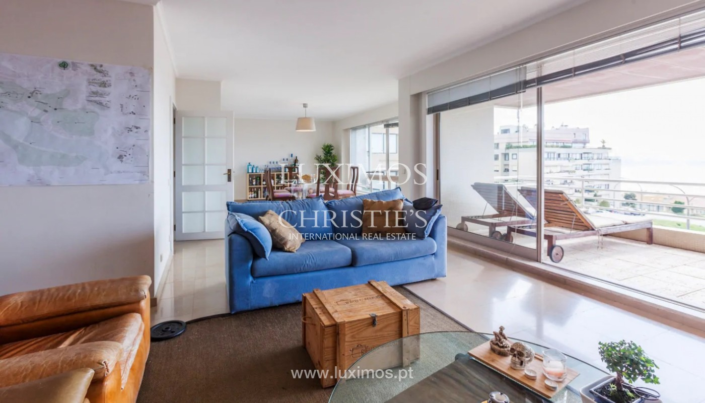 Apartment with ocean views, for sale, in Foz do Douro, Portugal_145692