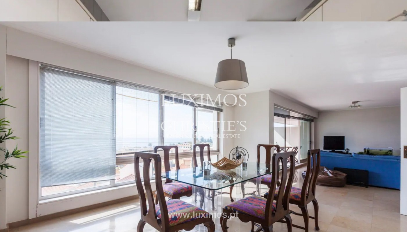 Apartamento com vistas mar, para venda, na Foz do Douro_145699