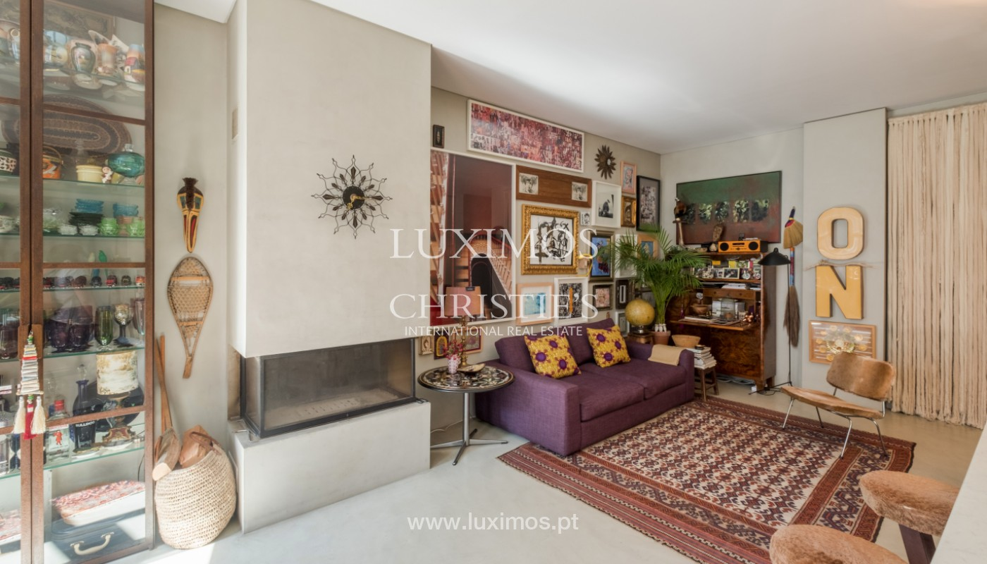 Sale of duplex apartment with city and river views, in Porto, Portugal_145715