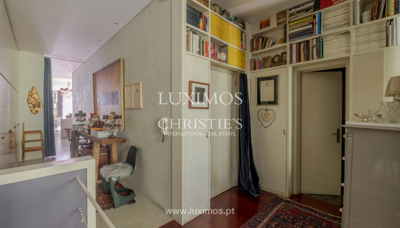 Sale of duplex apartment with city and river views, in Porto, Portugal_145718
