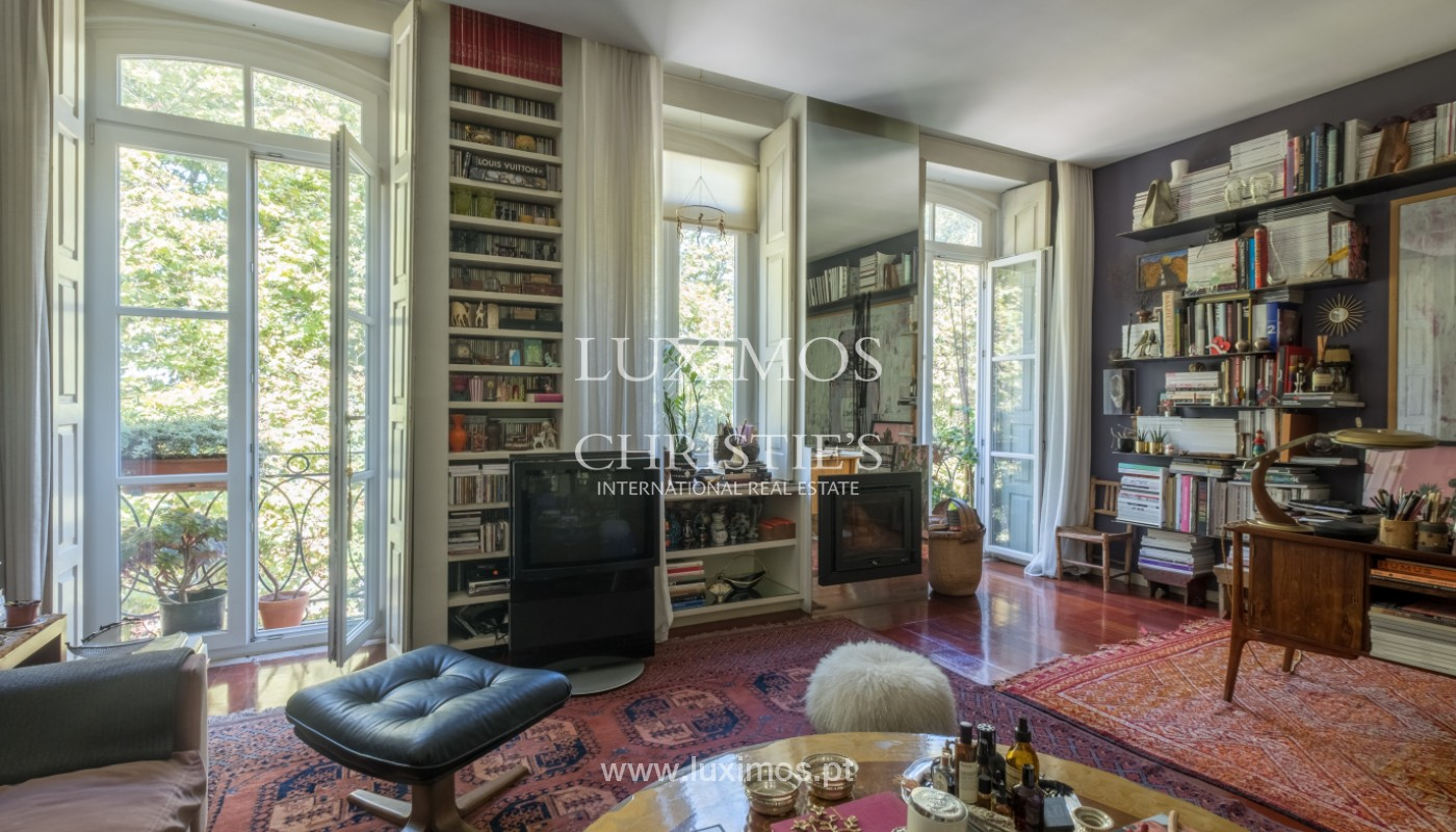 Sale of duplex apartment with city and river views, in Porto, Portugal_145724