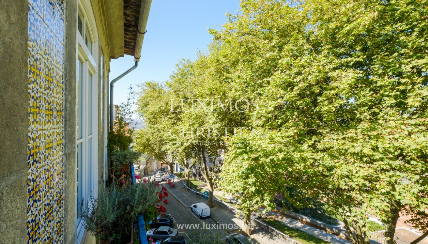 Sale of duplex apartment with city and river views, in Porto, Portugal_145725