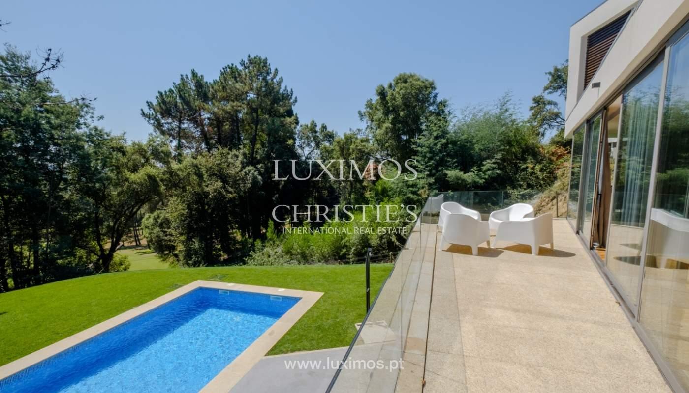 Moradia moderna e de luxo, com piscina, junto ao golfe, Ponte de Lima_146597