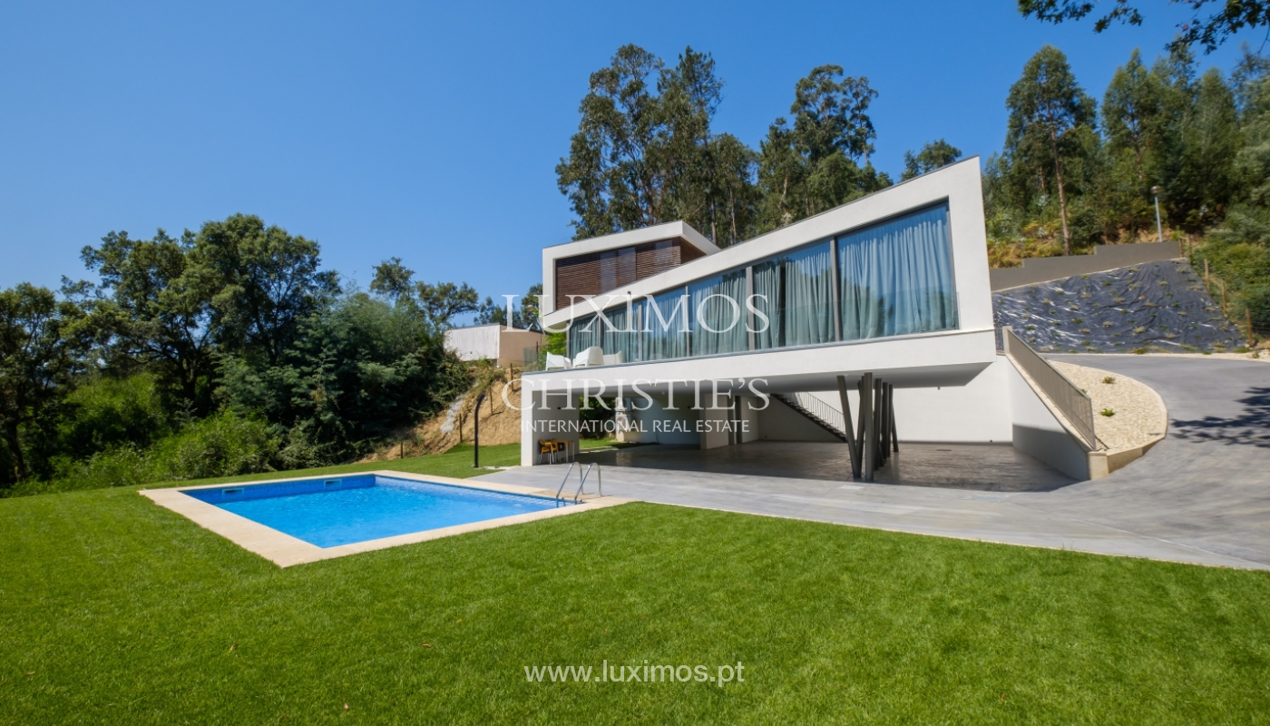 Moradia moderna e de luxo, com piscina, junto ao golfe, Ponte de Lima_146610