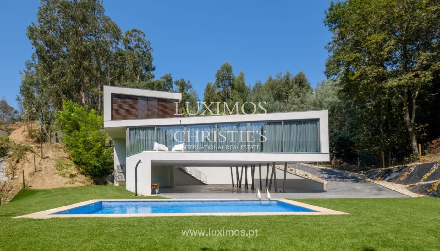 Moradia moderna e de luxo, com piscina, junto ao golfe, Ponte de Lima_146613