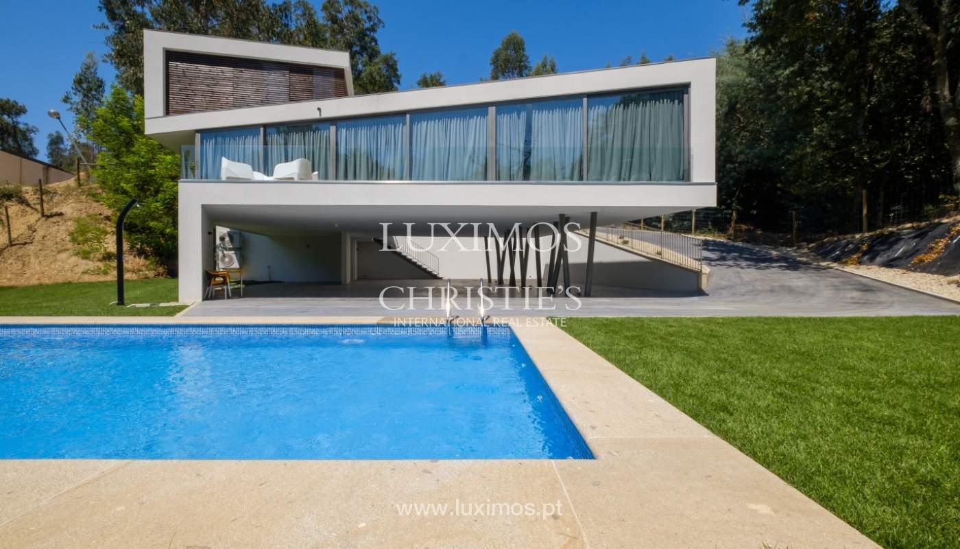 Moradia moderna e de luxo, com piscina, junto ao golfe, Ponte de Lima_146618