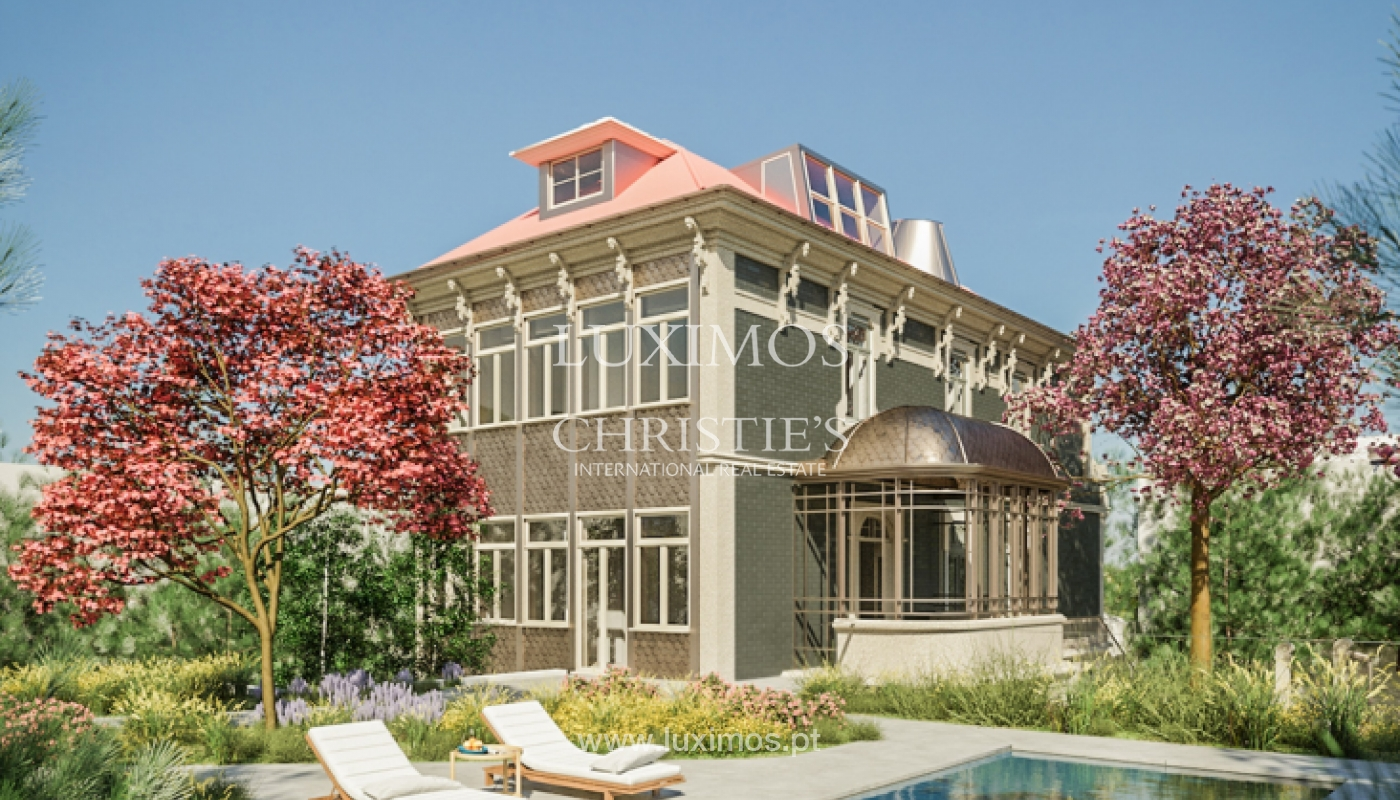 Appartement avec piscine et jardin privés, au condominium de luxe, Foz, Porto, Portugal_146756