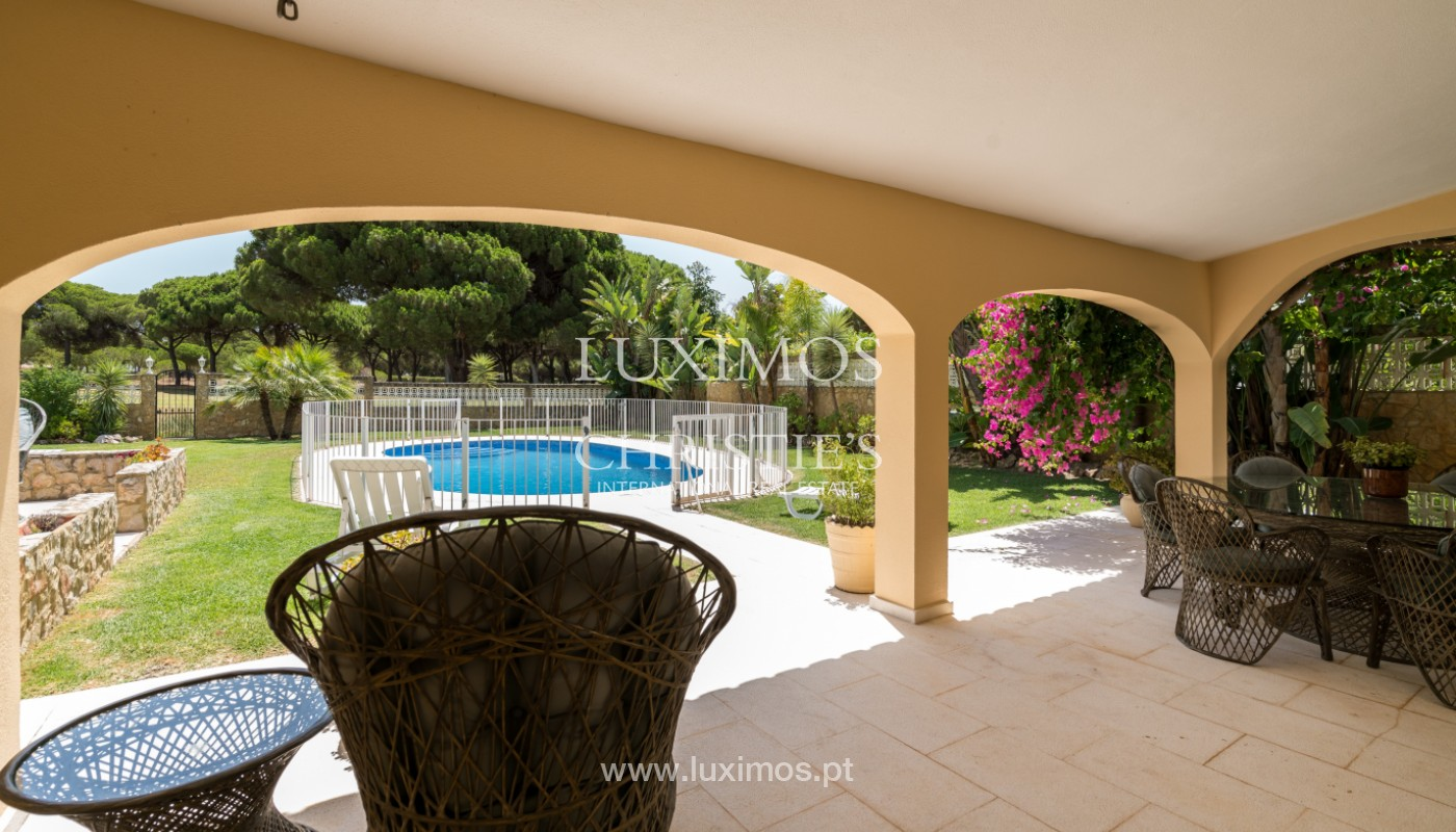 Villa with 5 bedrooms, with pool and garden, Vilamoura, Algarve_146931