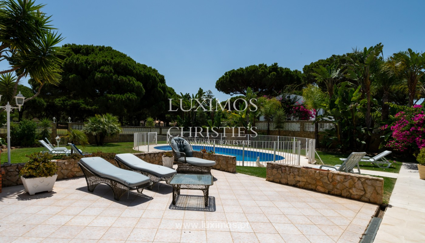 Villa with 5 bedrooms, with pool and garden, Vilamoura, Algarve_146936