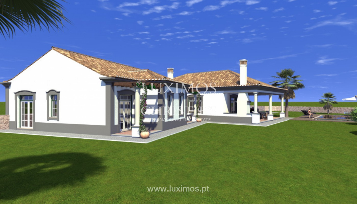 Villa with 4 Bedrooms, with sea and country views, Boliqueime, Algarve_148786
