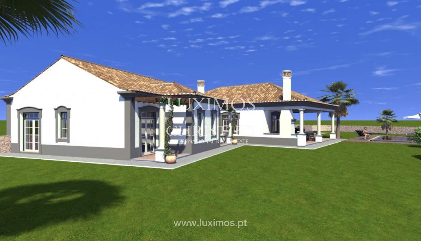 Villa de 4 chambres avec vue sur la mer et la campagne, Boliqueime, Algarve_148786