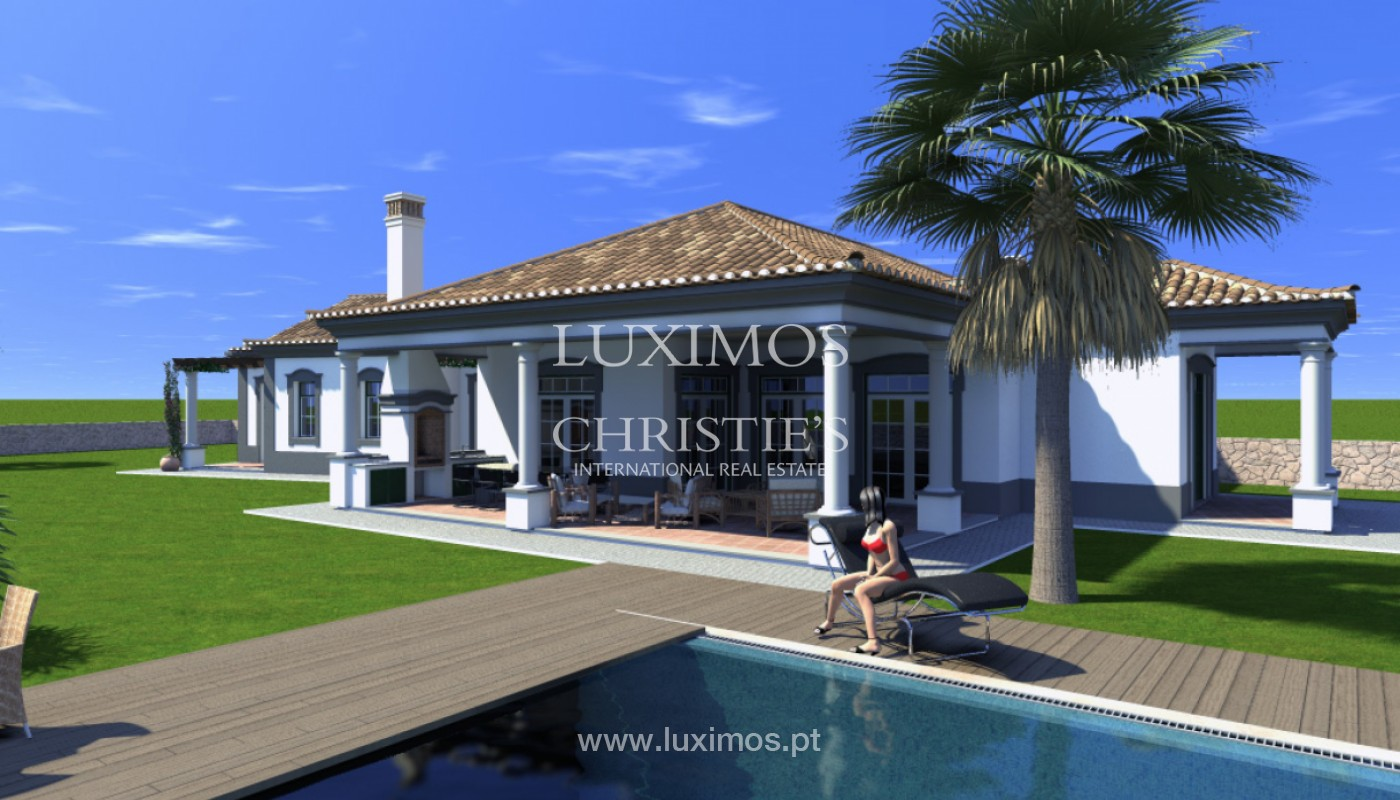 Villa with 4 Bedrooms, with sea and country views, Boliqueime, Algarve_148788