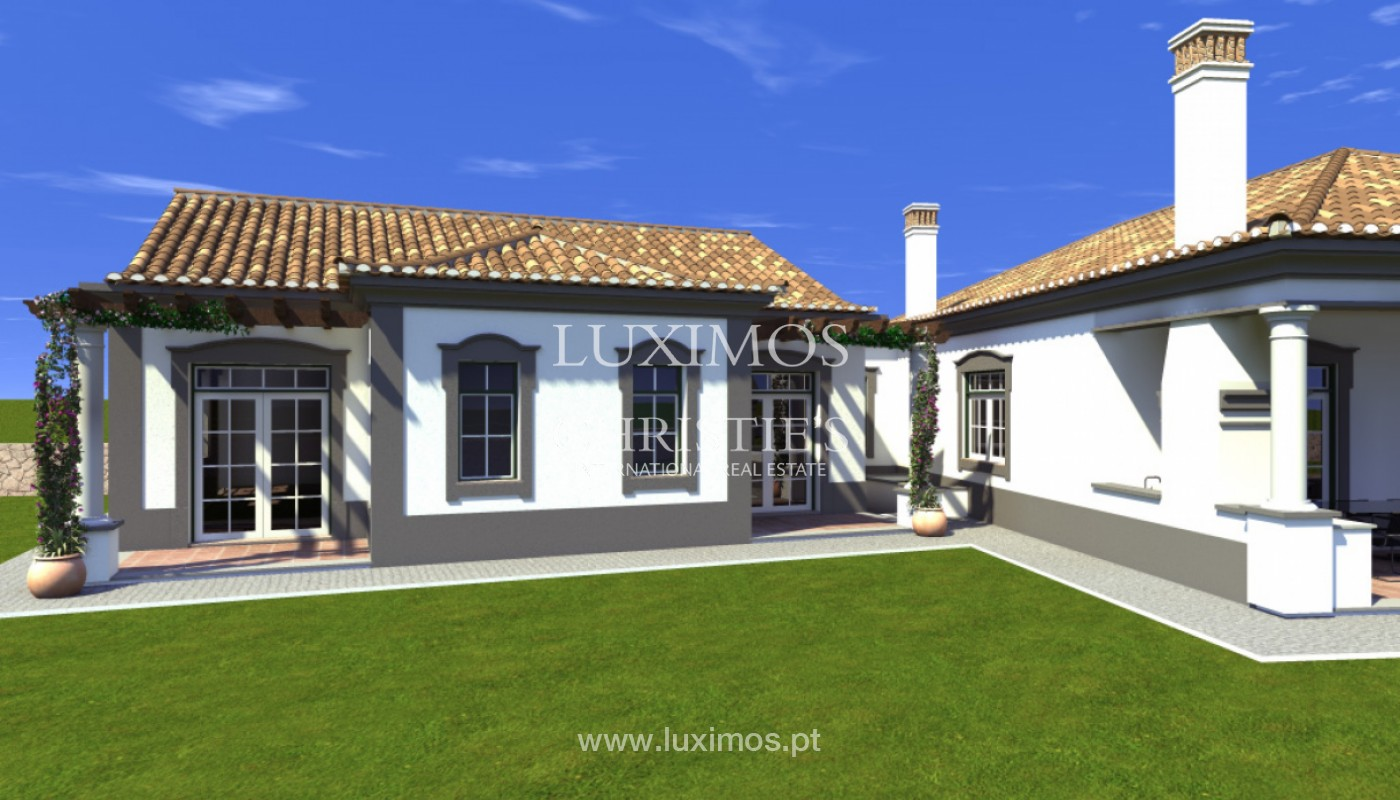 Villa with 4 Bedrooms, with sea and country views, Boliqueime, Algarve_148789