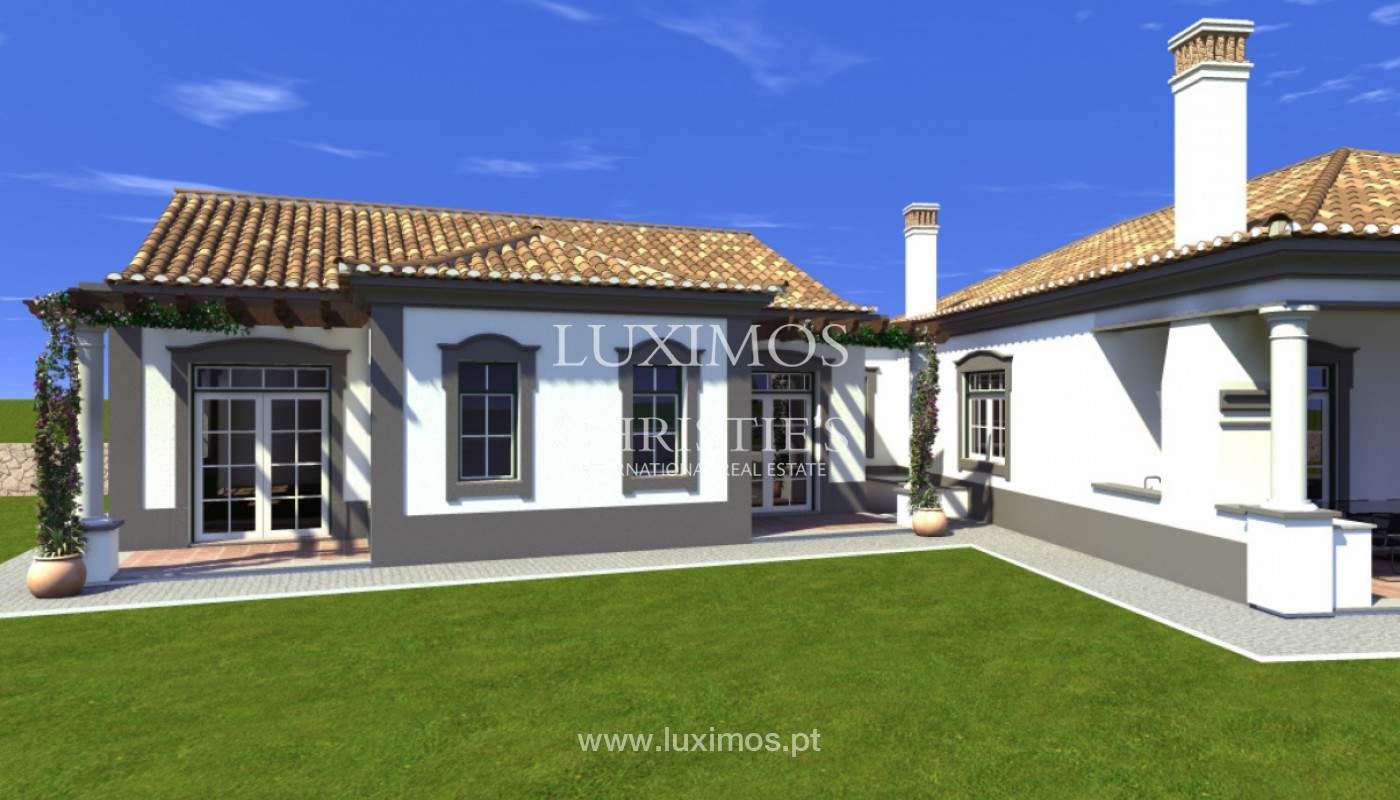 Villa de 4 chambres avec vue sur la mer et la campagne, Boliqueime, Algarve_148789
