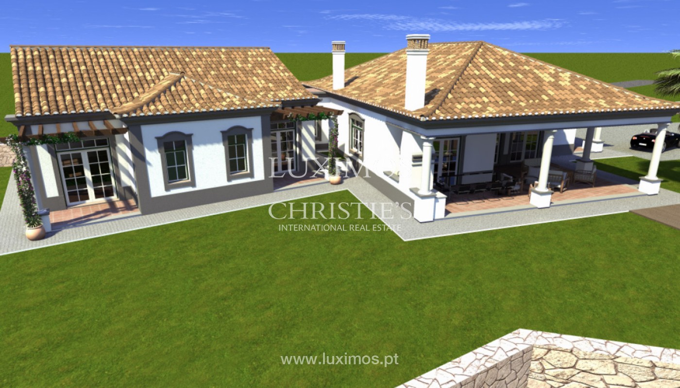 Villa de 4 chambres avec vue sur la mer et la campagne, Boliqueime, Algarve_148792