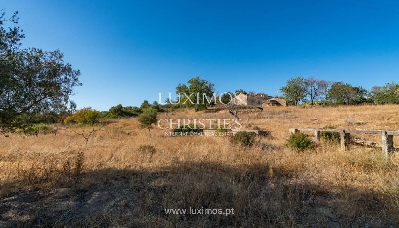 Terrain avec vue sur la mer, pour la construction, à Quelfes, Olhão, Algarve_149298