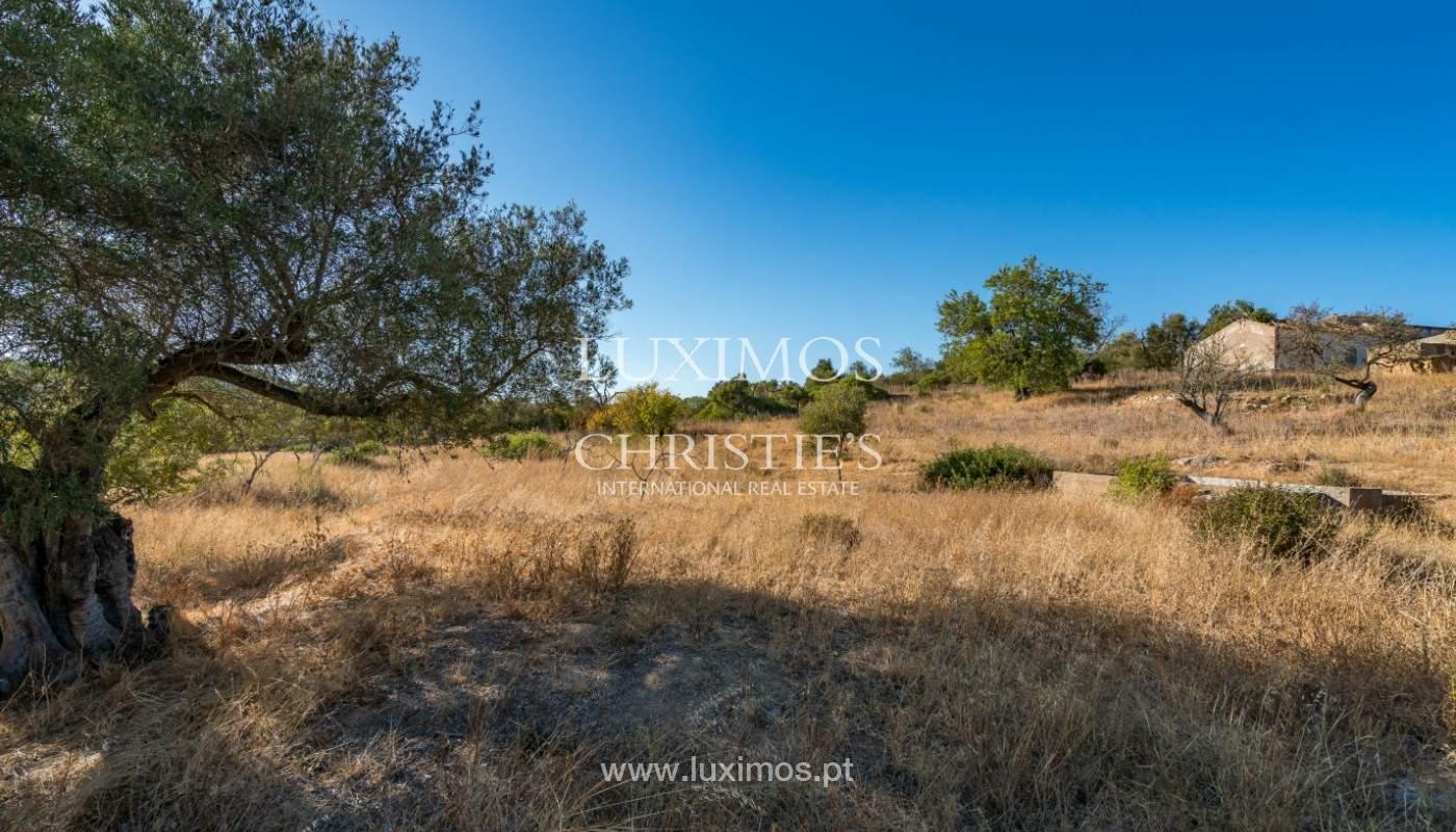 Terrain avec vue sur la mer, pour la construction, à Quelfes, Olhão, Algarve_149299