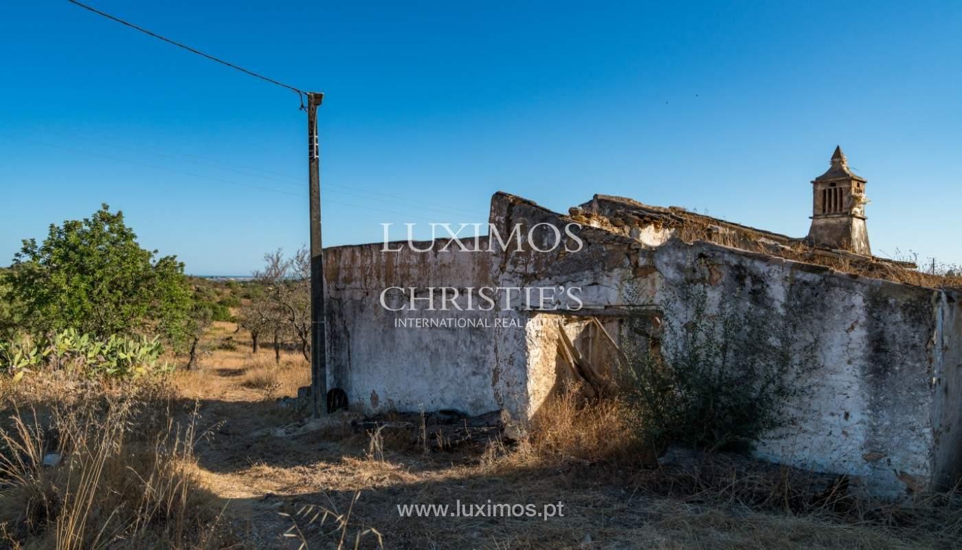 Terrain avec vue sur la mer, pour la construction, à Quelfes, Olhão, Algarve_149322
