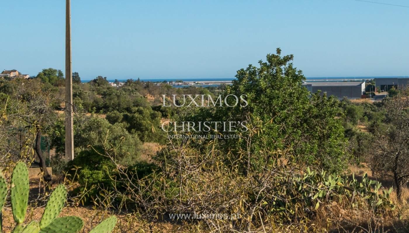 Terrain avec vue sur la mer, pour la construction, à Quelfes, Olhão, Algarve_149326
