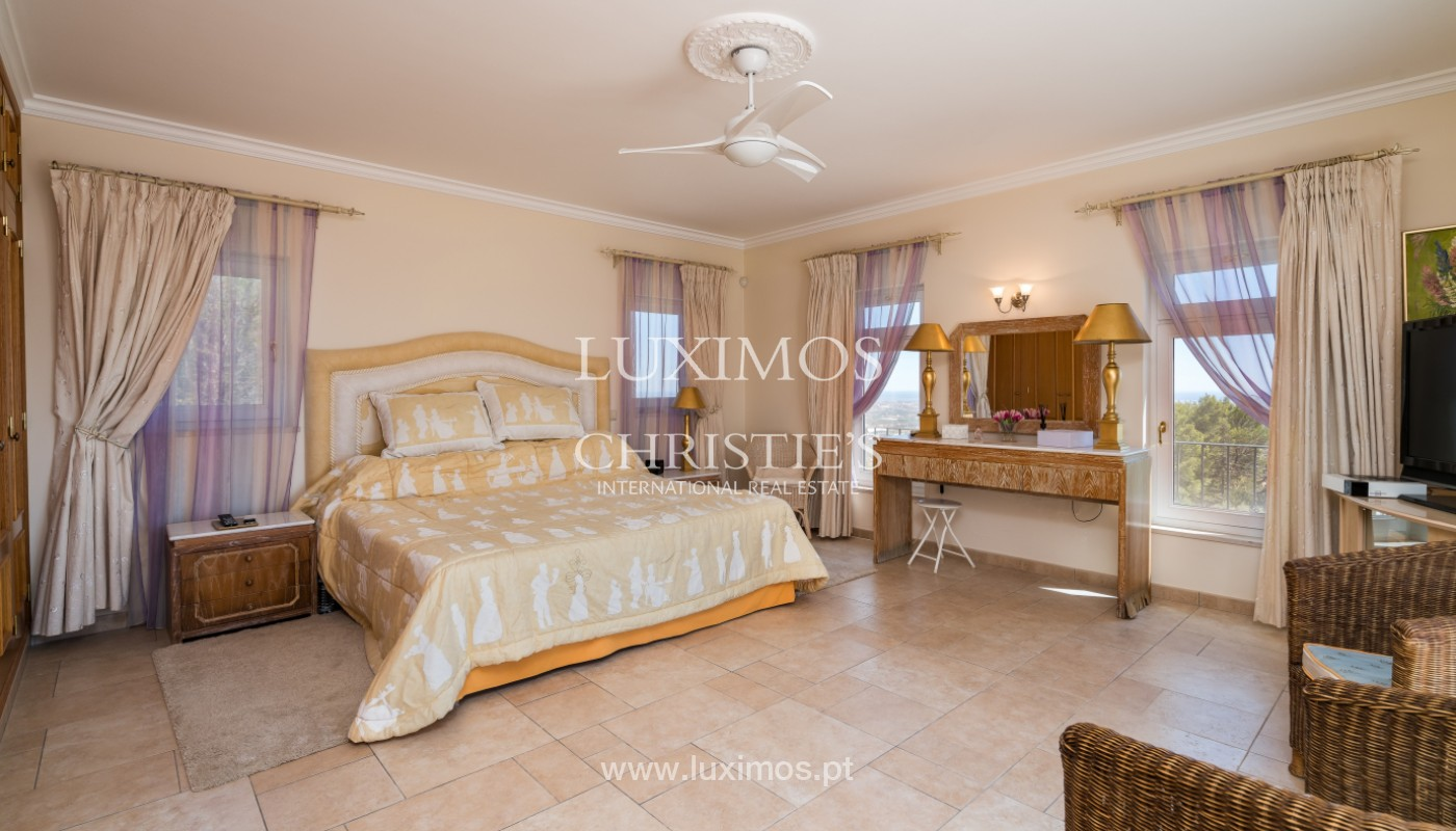 Villa de 4 chambres, avec piscine, vue sur la mer, Santa Barbara de Nexe, Algarve_149344