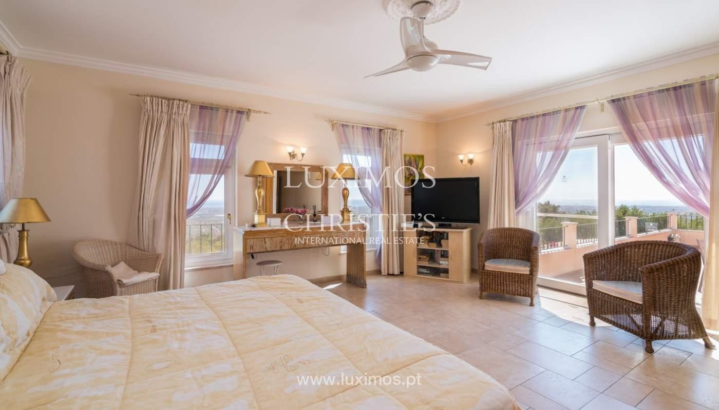 Villa de 4 chambres, avec piscine, vue sur la mer, Santa Barbara de Nexe, Algarve_149346