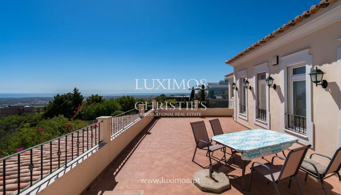 Villa de 4 chambres, avec piscine, vue sur la mer, Santa Barbara de Nexe, Algarve_149349