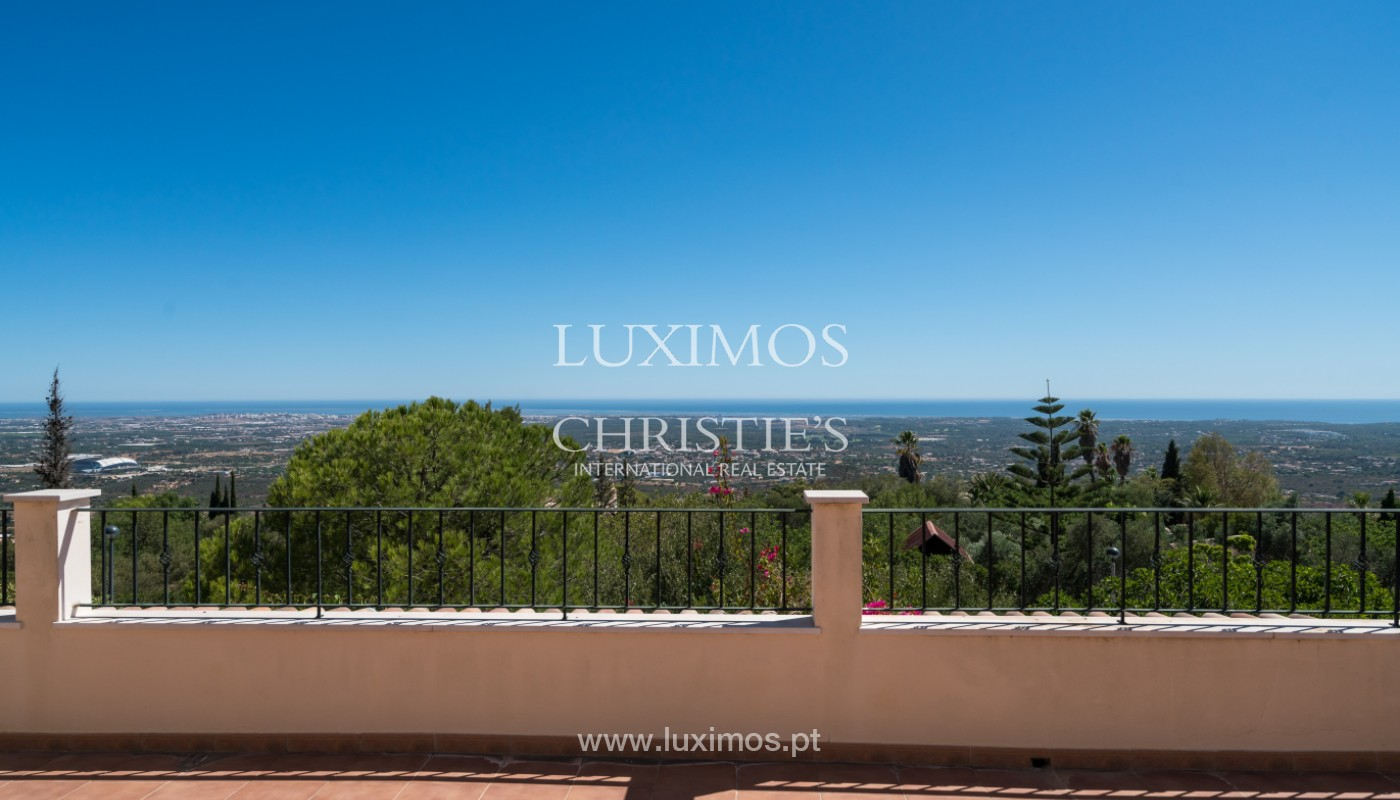 Villa de 4 chambres, avec piscine, vue sur la mer, Santa Barbara de Nexe, Algarve_149351