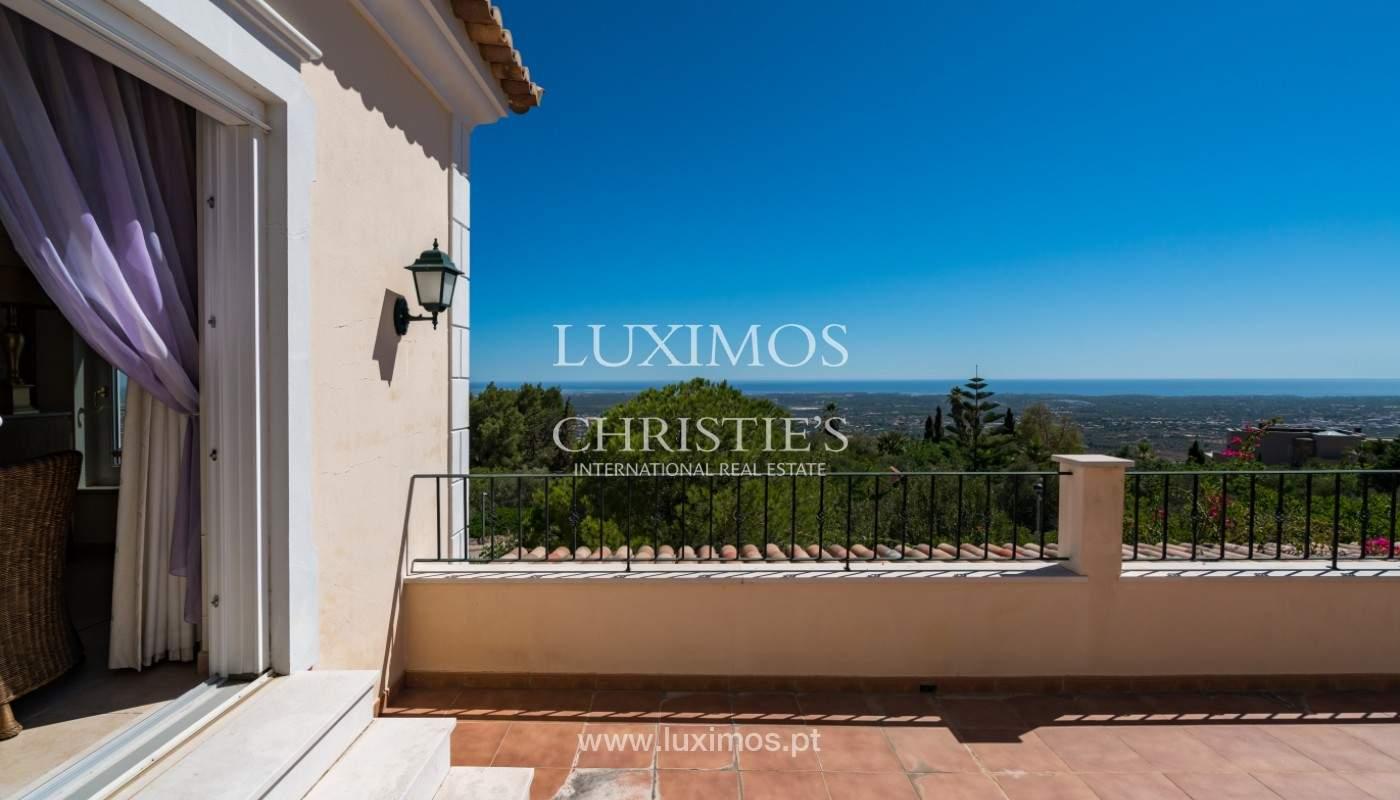 Villa de 4 chambres, avec piscine, vue sur la mer, Santa Barbara de Nexe, Algarve_149353