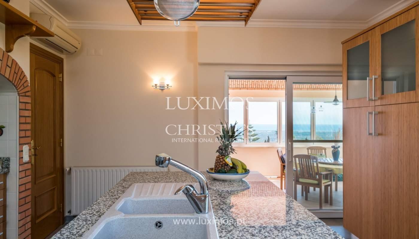 Villa de 4 chambres, avec piscine, vue sur la mer, Santa Barbara de Nexe, Algarve_149366