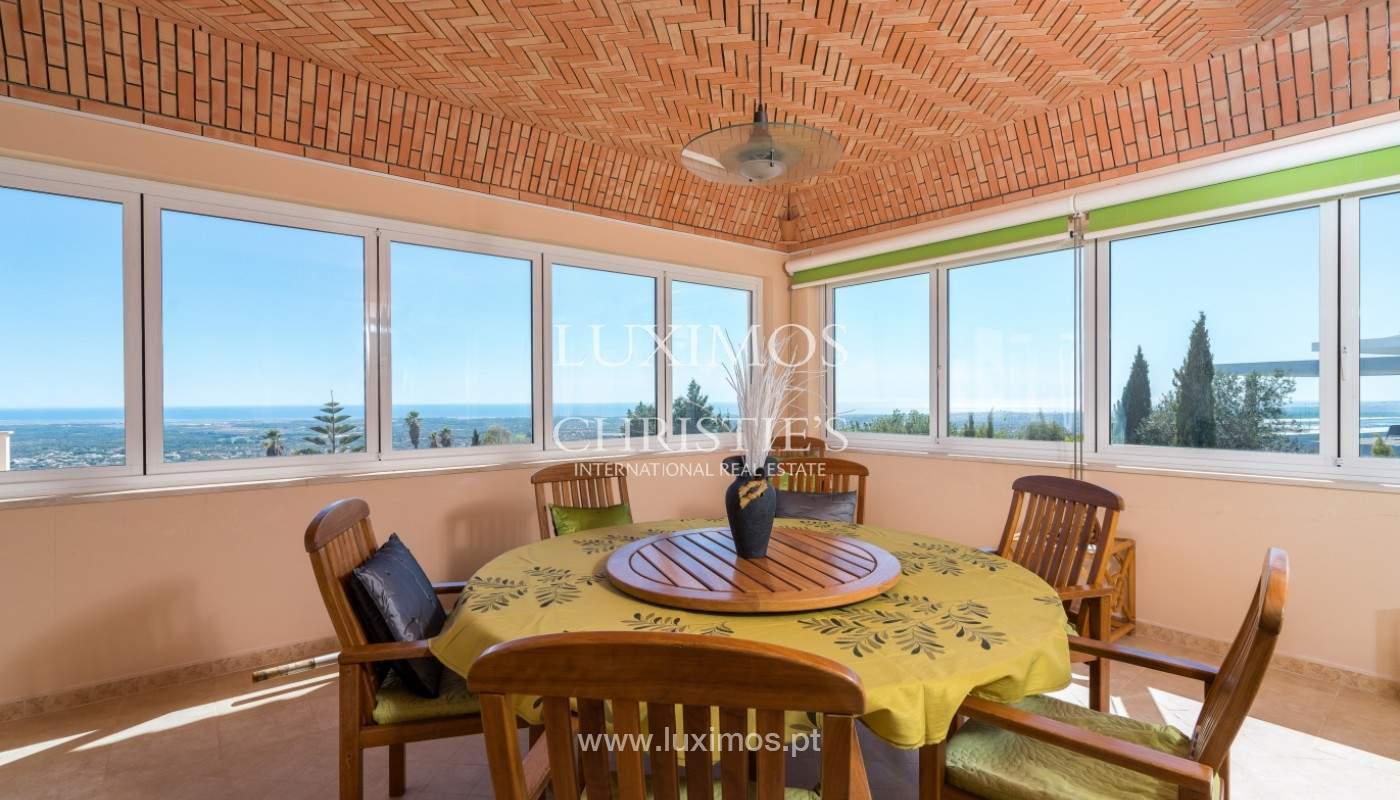 Villa de 4 chambres, avec piscine, vue sur la mer, Santa Barbara de Nexe, Algarve_149367