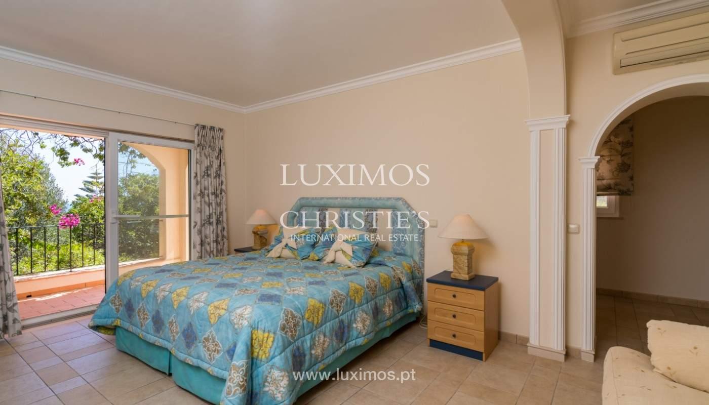 Villa de 4 chambres, avec piscine, vue sur la mer, Santa Barbara de Nexe, Algarve_149372