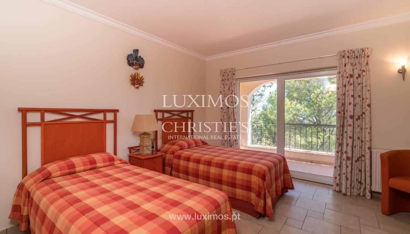 Villa de 4 chambres, avec piscine, vue sur la mer, Santa Barbara de Nexe, Algarve_149377