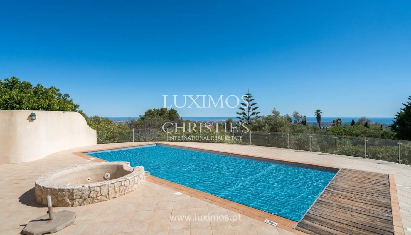 Villa de 4 chambres, avec piscine, vue sur la mer, Santa Barbara de Nexe, Algarve_149385