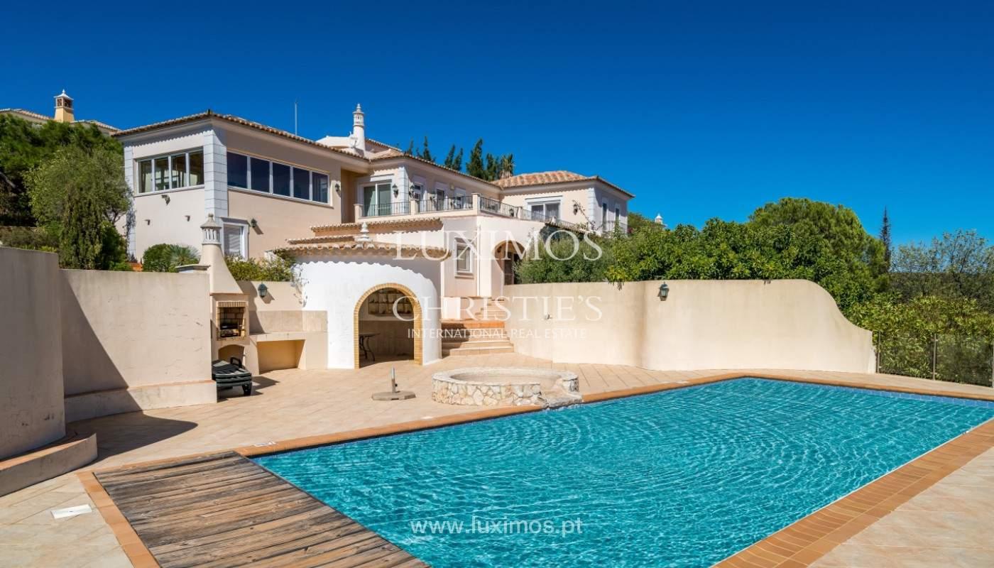 Villa de 4 chambres, avec piscine, vue sur la mer, Santa Barbara de Nexe, Algarve_149390