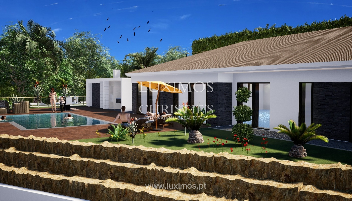 Villa de 3 chambres à coucher, avec piscine, Santa Barbara de Nexe, Algarve_149488