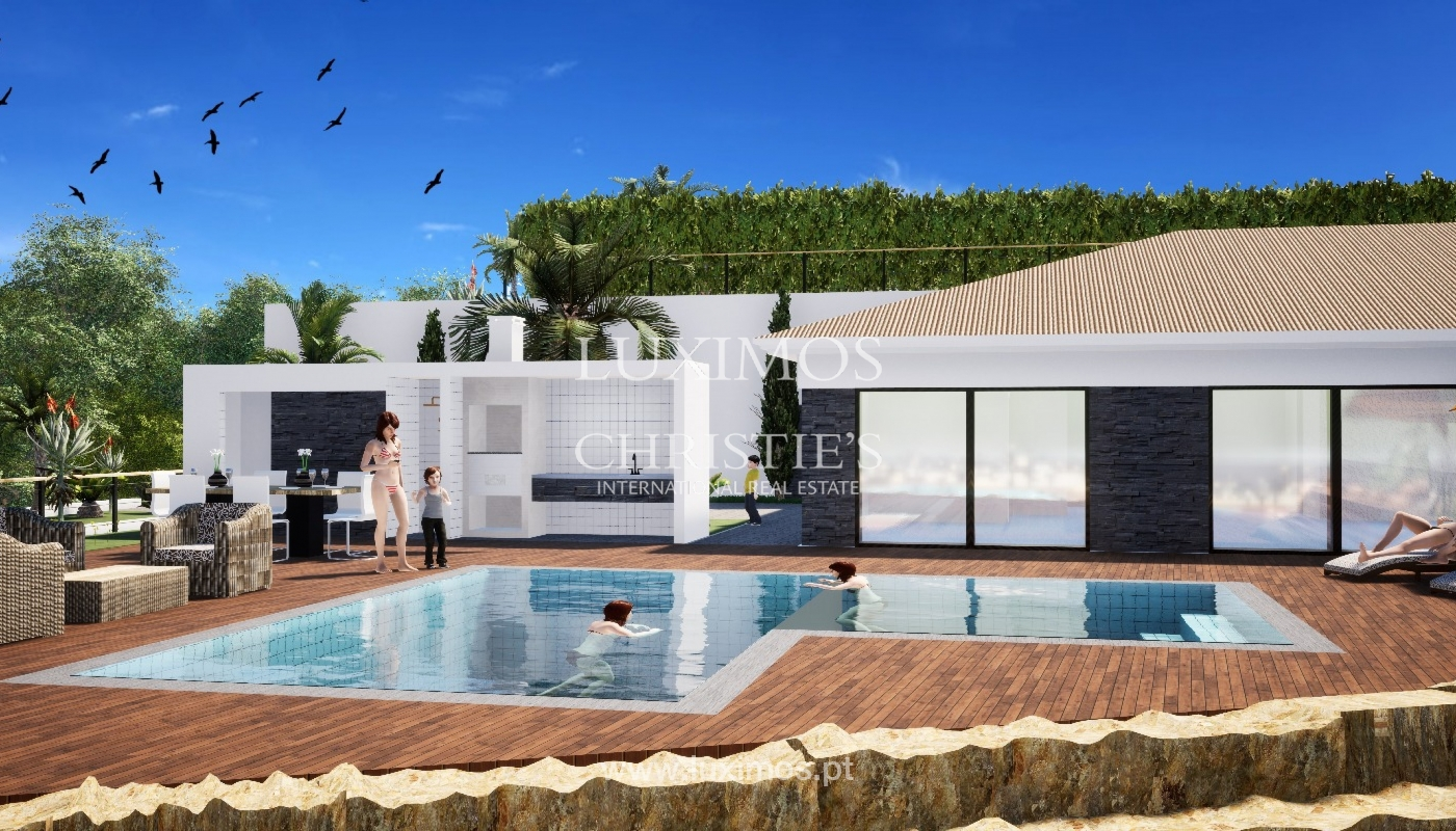 Villa de 3 chambres à coucher, avec piscine, Santa Barbara de Nexe, Algarve_149495