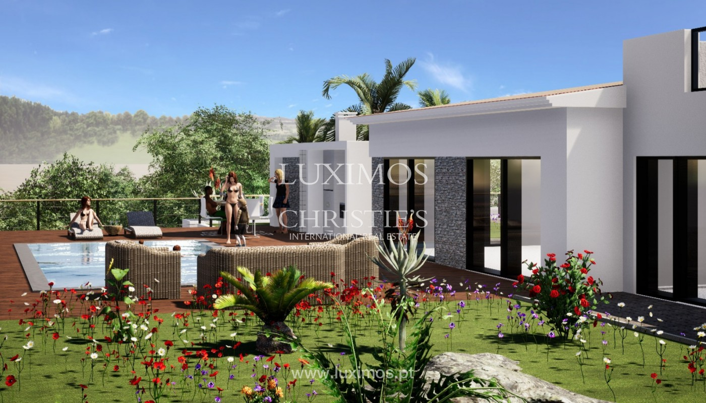 Villa de 3 chambres à vendre, avec piscine, Santa Barbara de Nexe, Algarve_149515