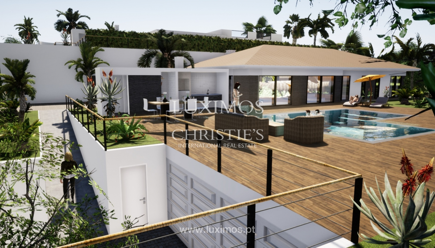 Villa de 3 chambres à coucher, avec piscine, Santa Barbara de Nexe, Algarve_149754