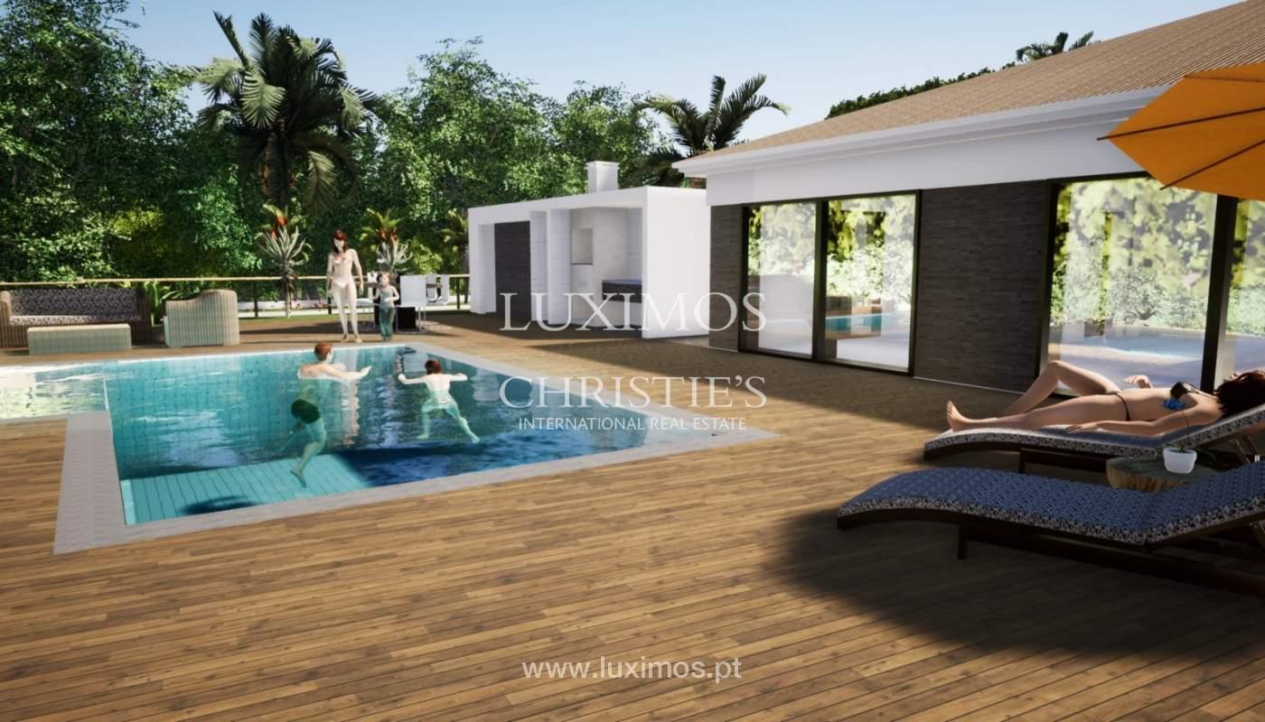 Villa de 3 chambres à coucher, avec piscine, Santa Barbara de Nexe, Algarve_149755