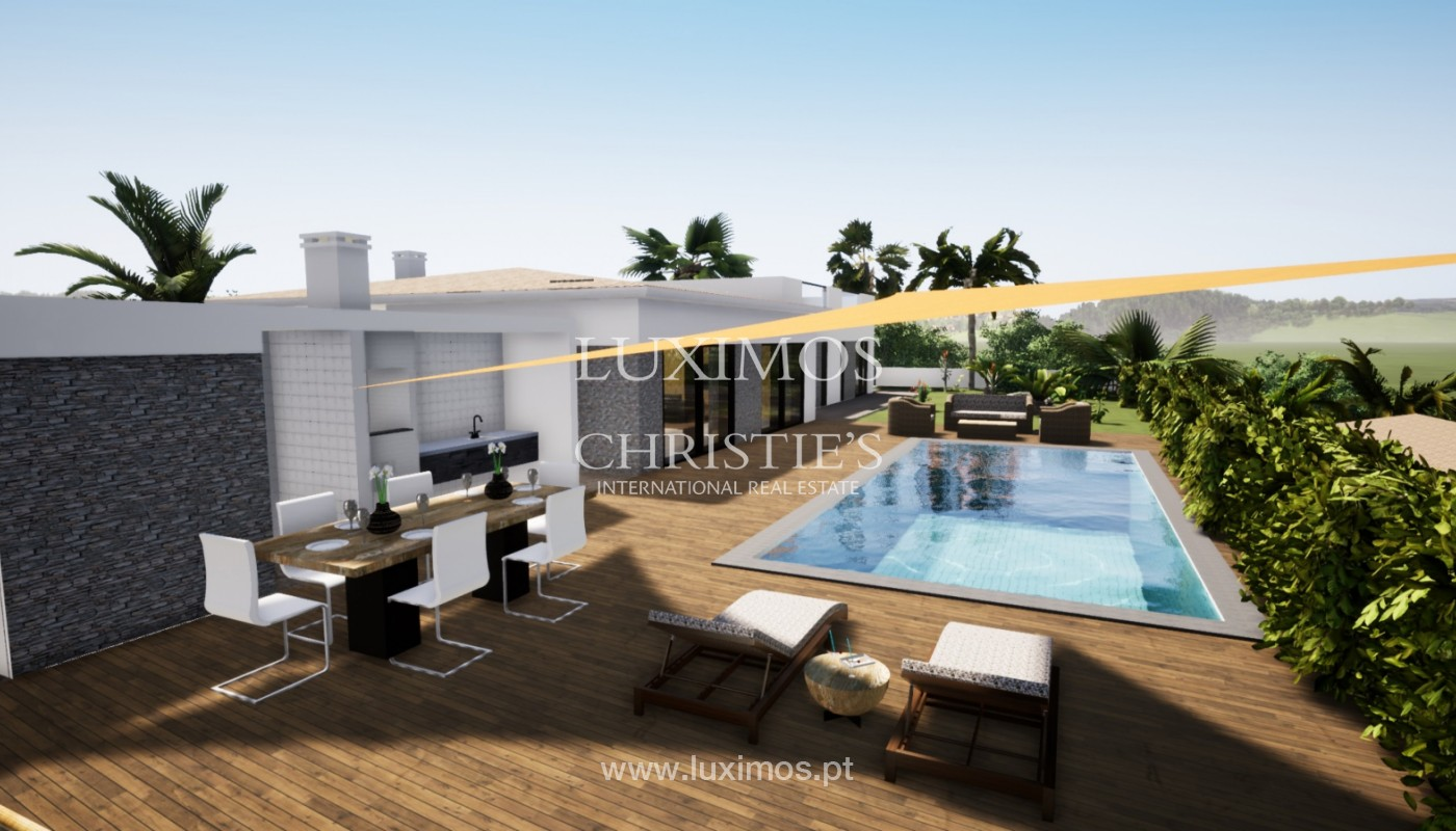 Villa de 3 chambres à vendre, avec piscine, Santa Barbara de Nexe, Algarve_149762